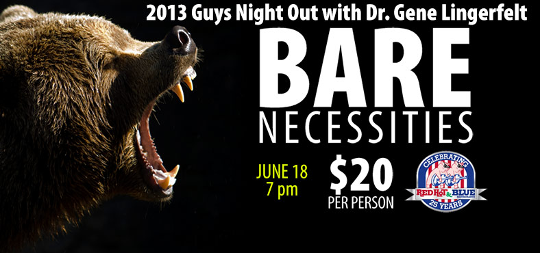 Guys Night 2013: Bare Necessities